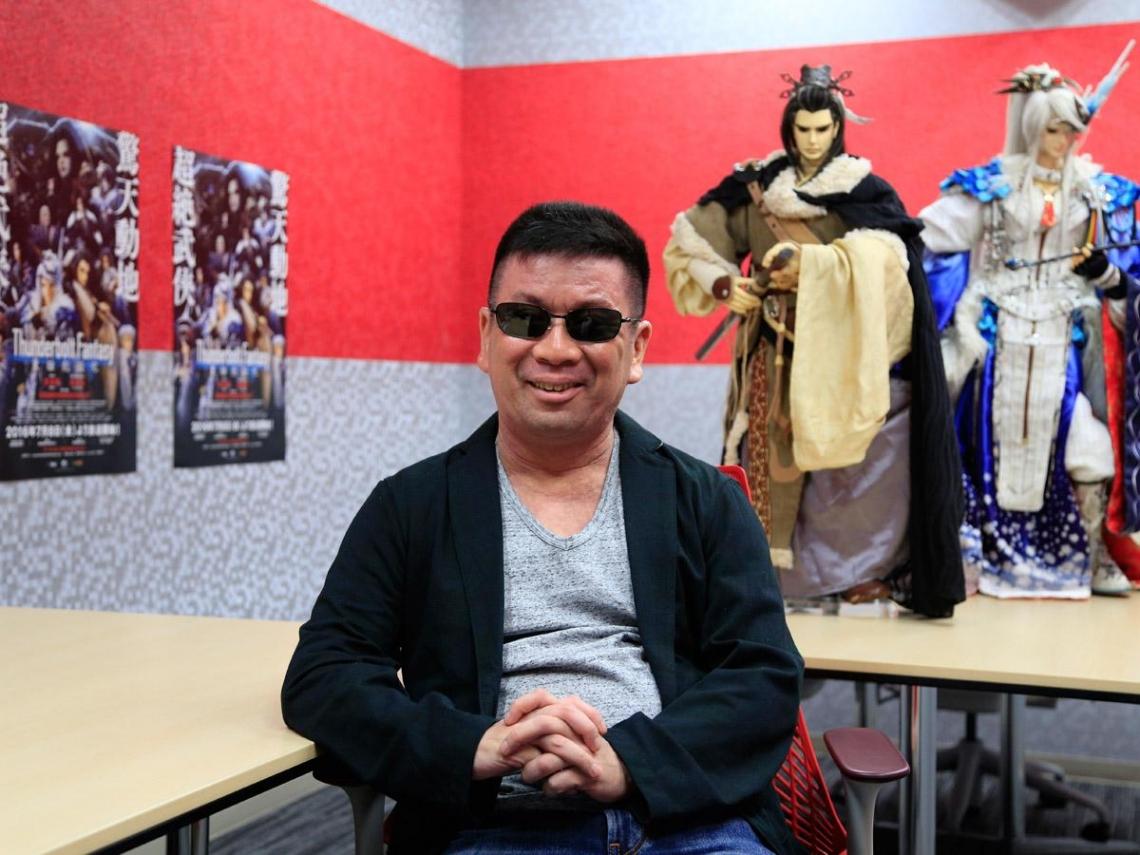 讓霹靂布袋戲走紅日本的「黑暗教父」