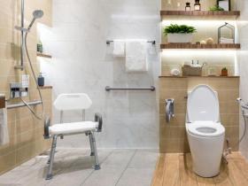 退休了,專家3招健檢,打造一間安全又舒適的新浴室