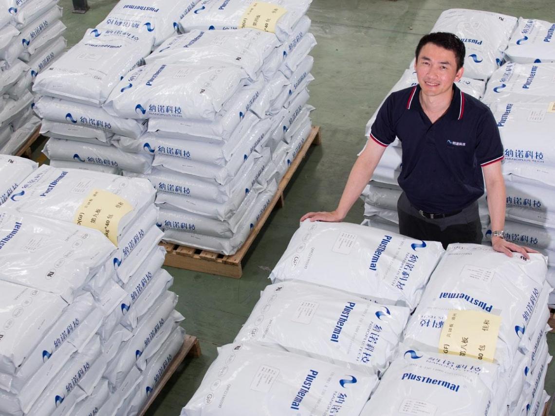 呂鴻圖賣奈米材料背後的環保大業