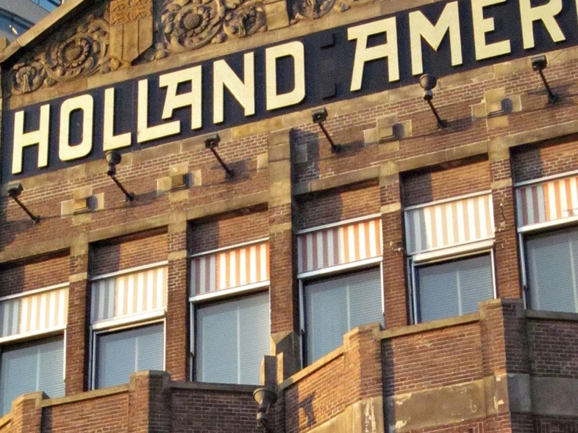在鹿特丹住進紐約大飯店