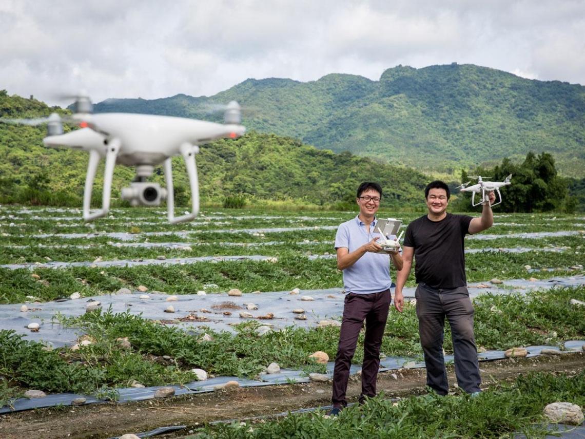 善用無人機監測西瓜產量  精準掌握產銷契機
