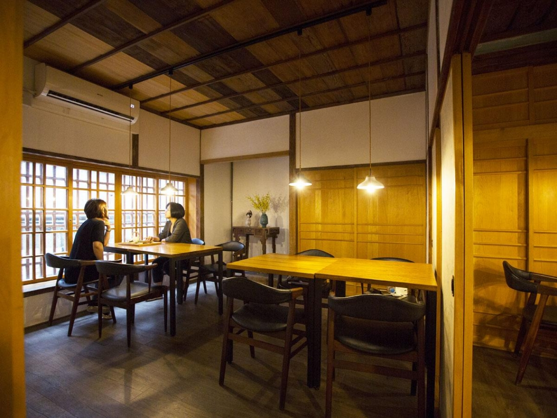 茶館中式下午茶  敲叩米香記憶  合興八十八亭