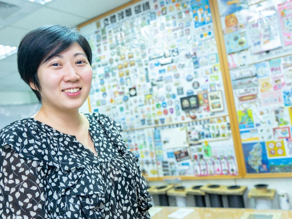 讓磁鐵帶愛遠行,壯嬴磁鐵「賺贏」全世界 吳姿瑩陪壯嬴走過轉型期