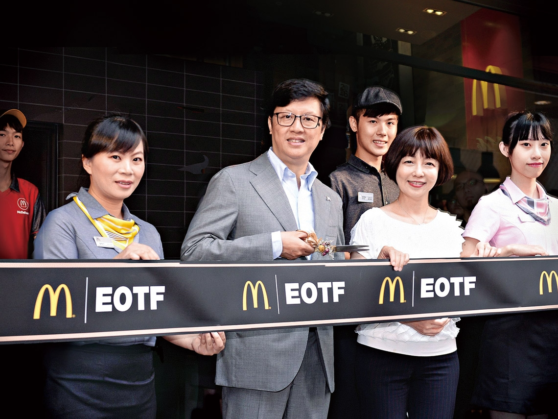 讓麥當勞飄出台灣味的點子王  李昌霖