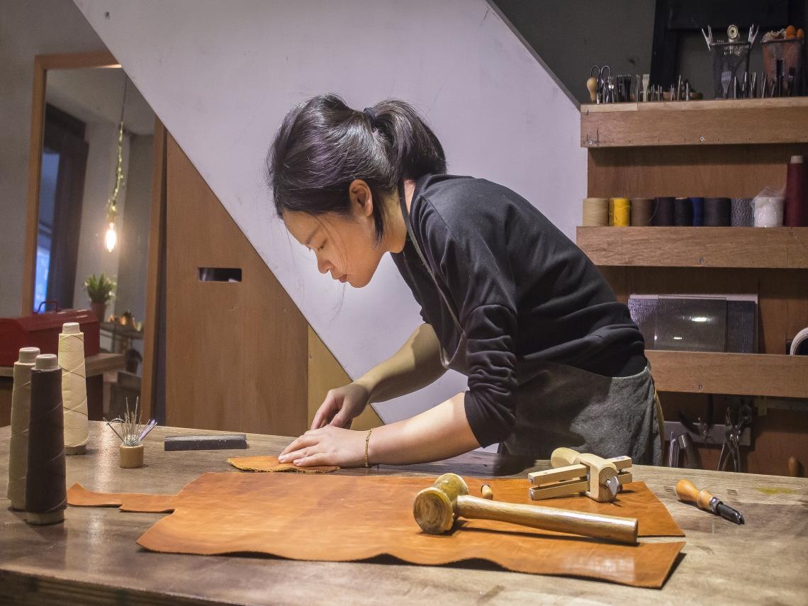 基隆傳統五金新力,打造微型博物館