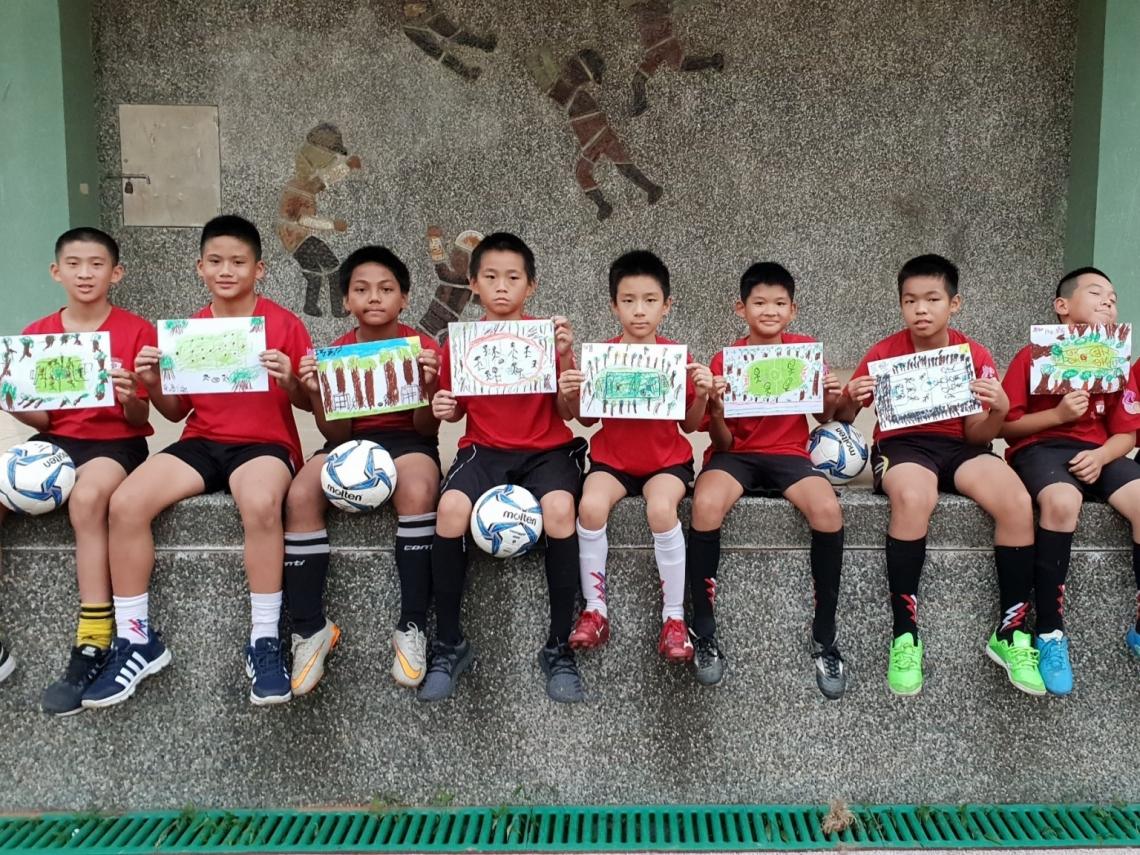種樹栽培足球隊,打造台東綠色原鄉
