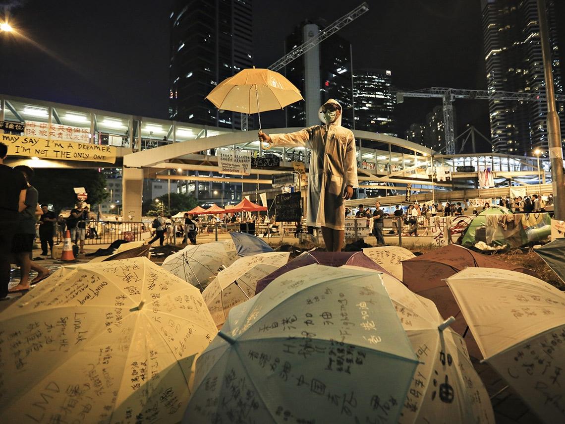 傘後4年  香港人心只剩恐懼
