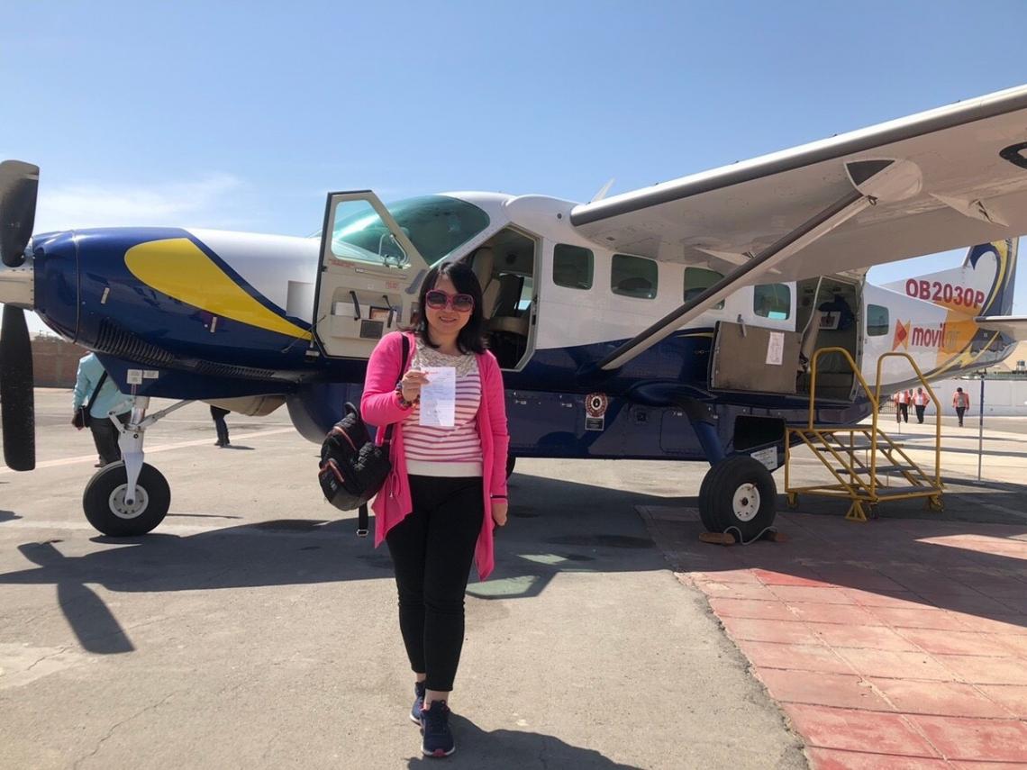 秘魯旅遊超好玩!搭小飛機俯瞰「納斯卡線」 驚見外星人千年之謎
