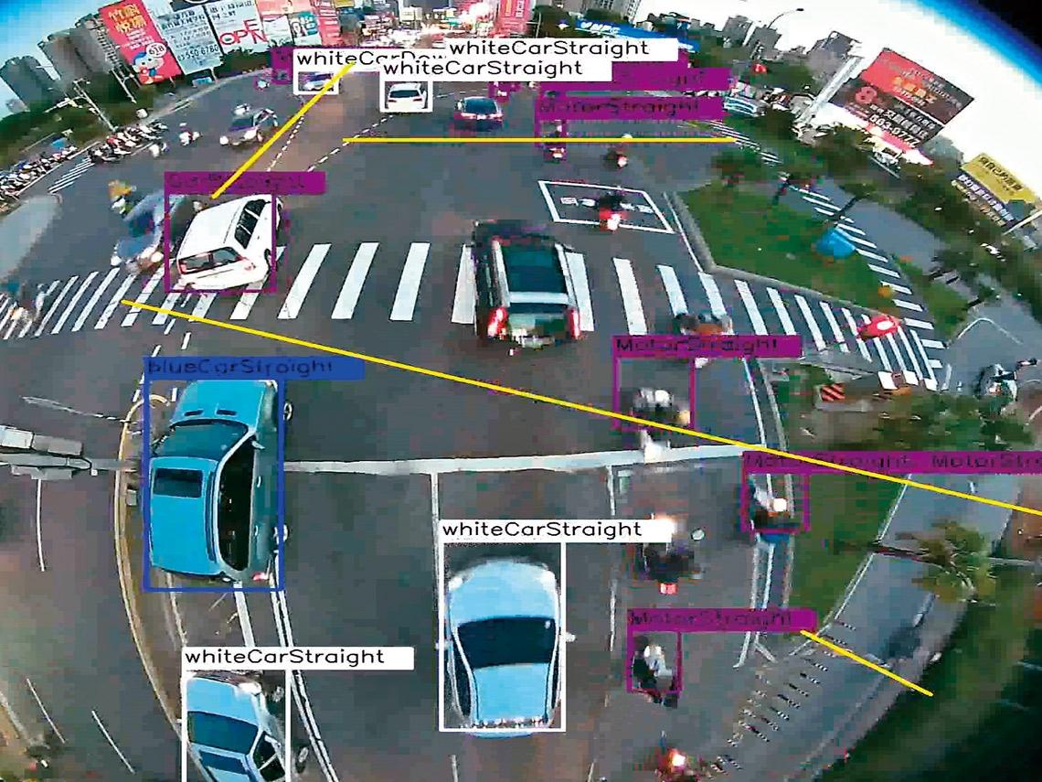 半截機車也能辨識  算出最佳亮綠燈時機