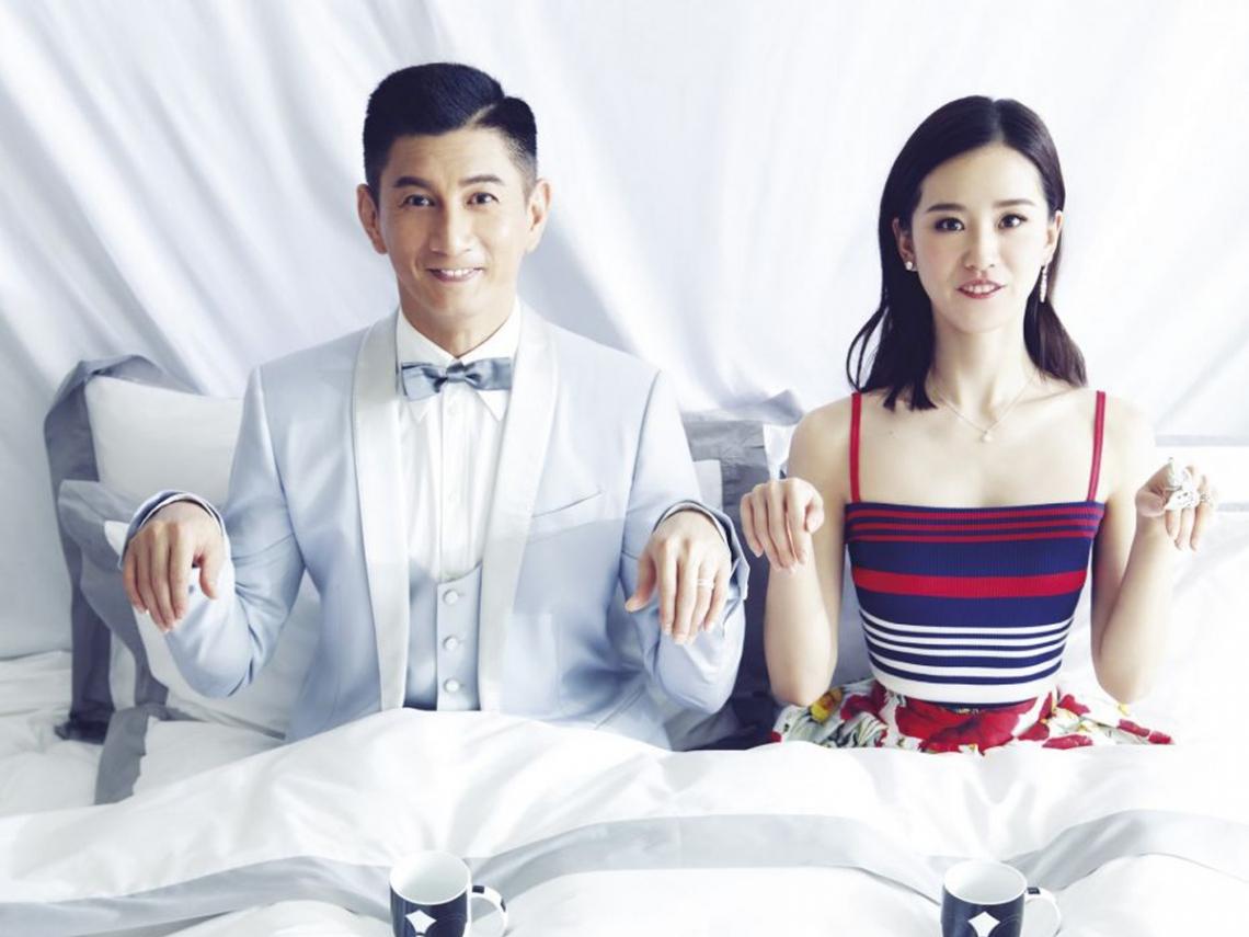 吳奇隆與劉詩詩的愛情:家人就是要在一起,再忙也要吃一頓飯