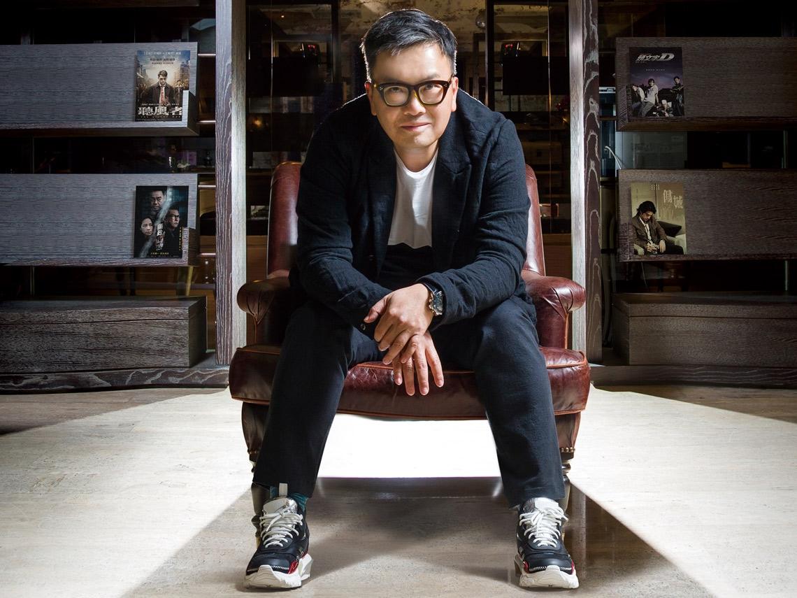 香港影壇扛壩子麥兆輝 在灰色地帶夢想正義