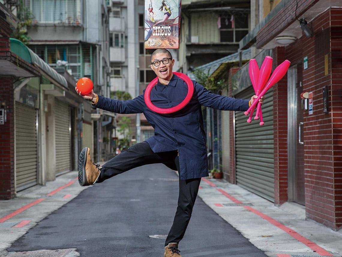 勇闖太陽劇團學會擁抱失敗 他開啟台灣馬戲之路