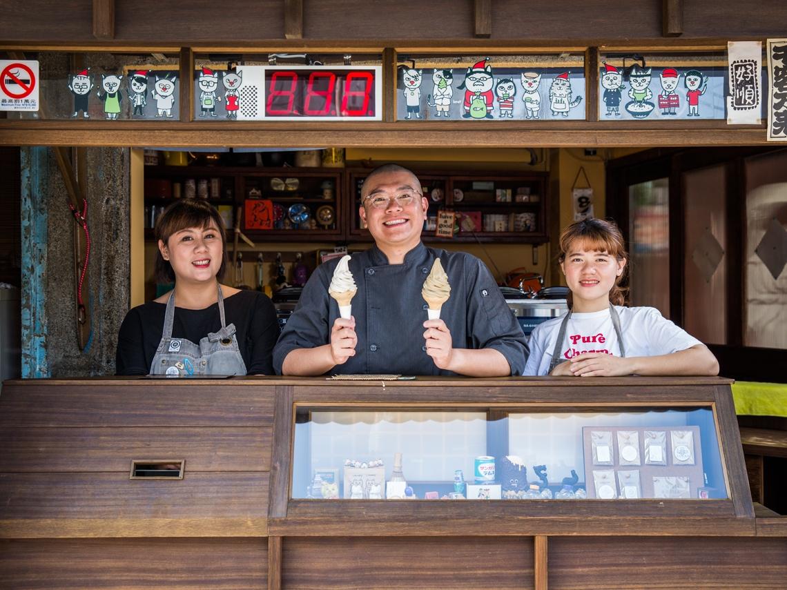 蜷尾家創辦人有夢大聲講 要把台灣冰淇淋賣到全世界