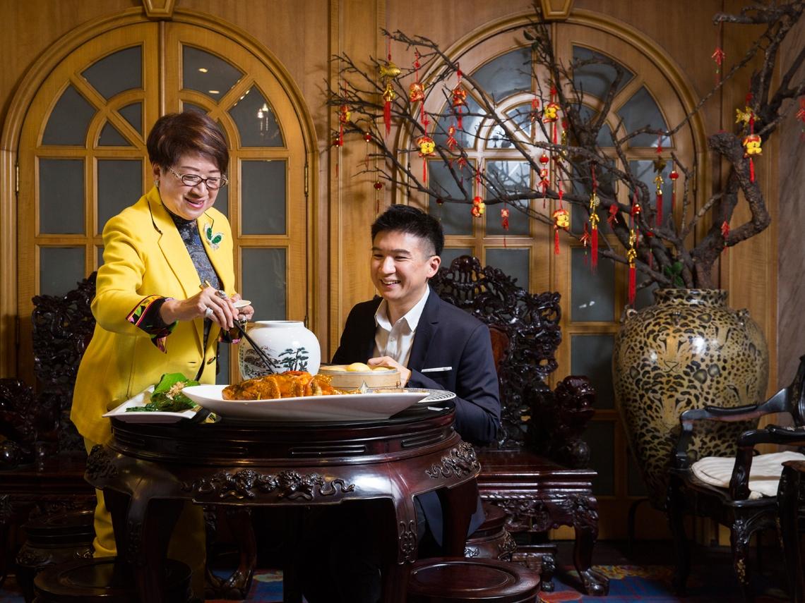 餐廳即飯廳  米其林星級團圓飯一吃四十九年