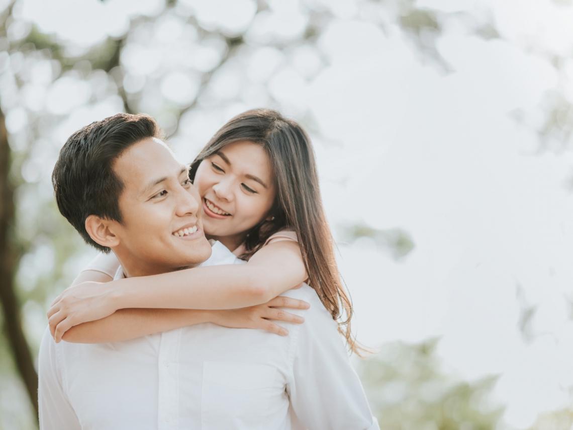 認識18年,戀愛14年,結婚8年...情人節每天都過