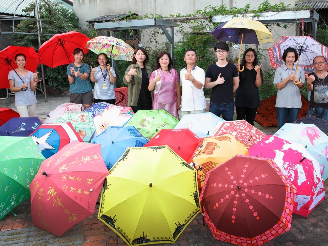 提供終生保固維修服務,以修繕代替購買...富雨洋傘:撐出傘界環保奇蹟