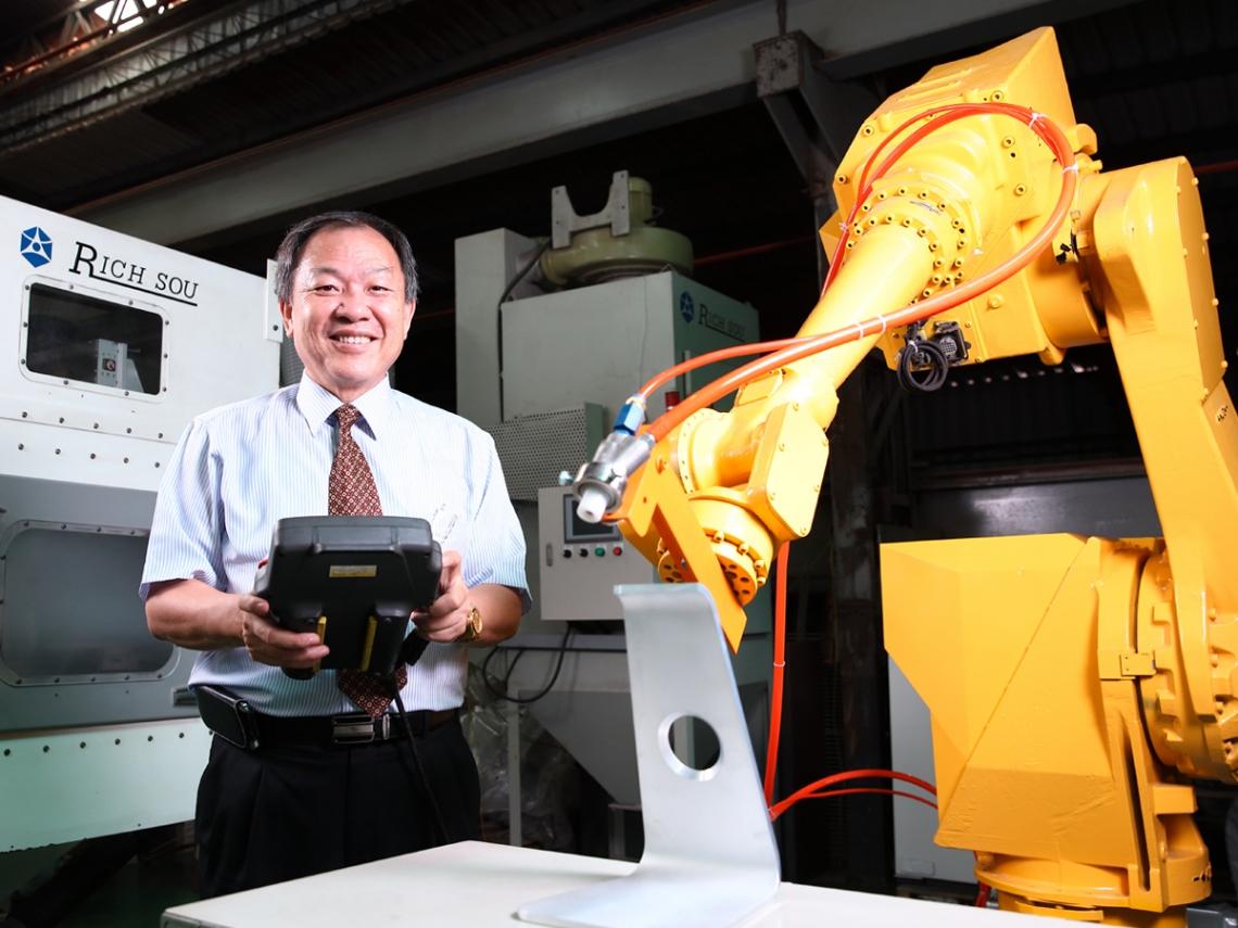 大鎪科技 臺灣噴砂設備智慧化的領頭羊