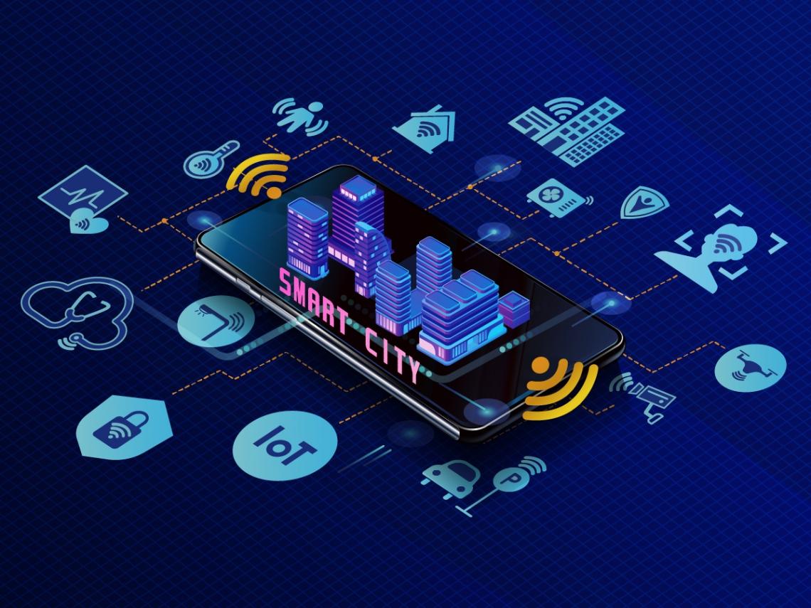 科幻片的場景想像 全在2019智慧城市與物聯網展
