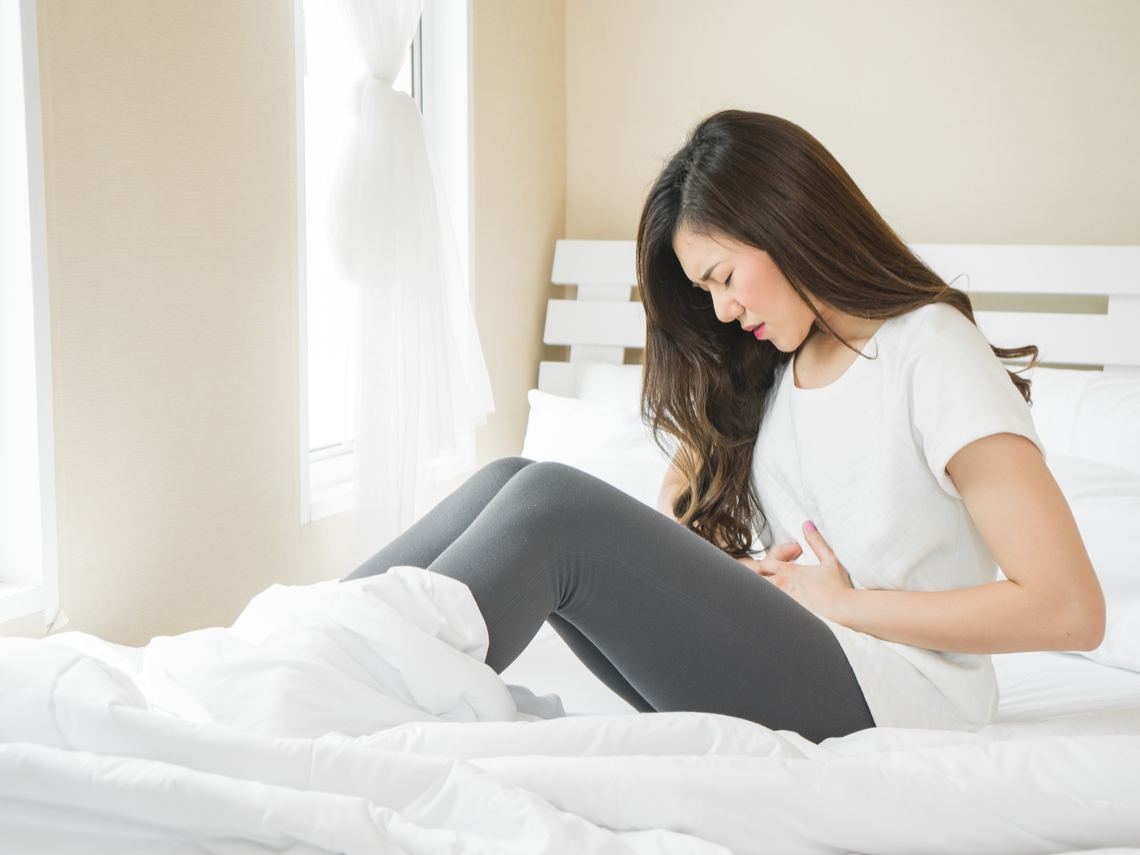 月經血量及血塊增加 當心子宮肌瘤