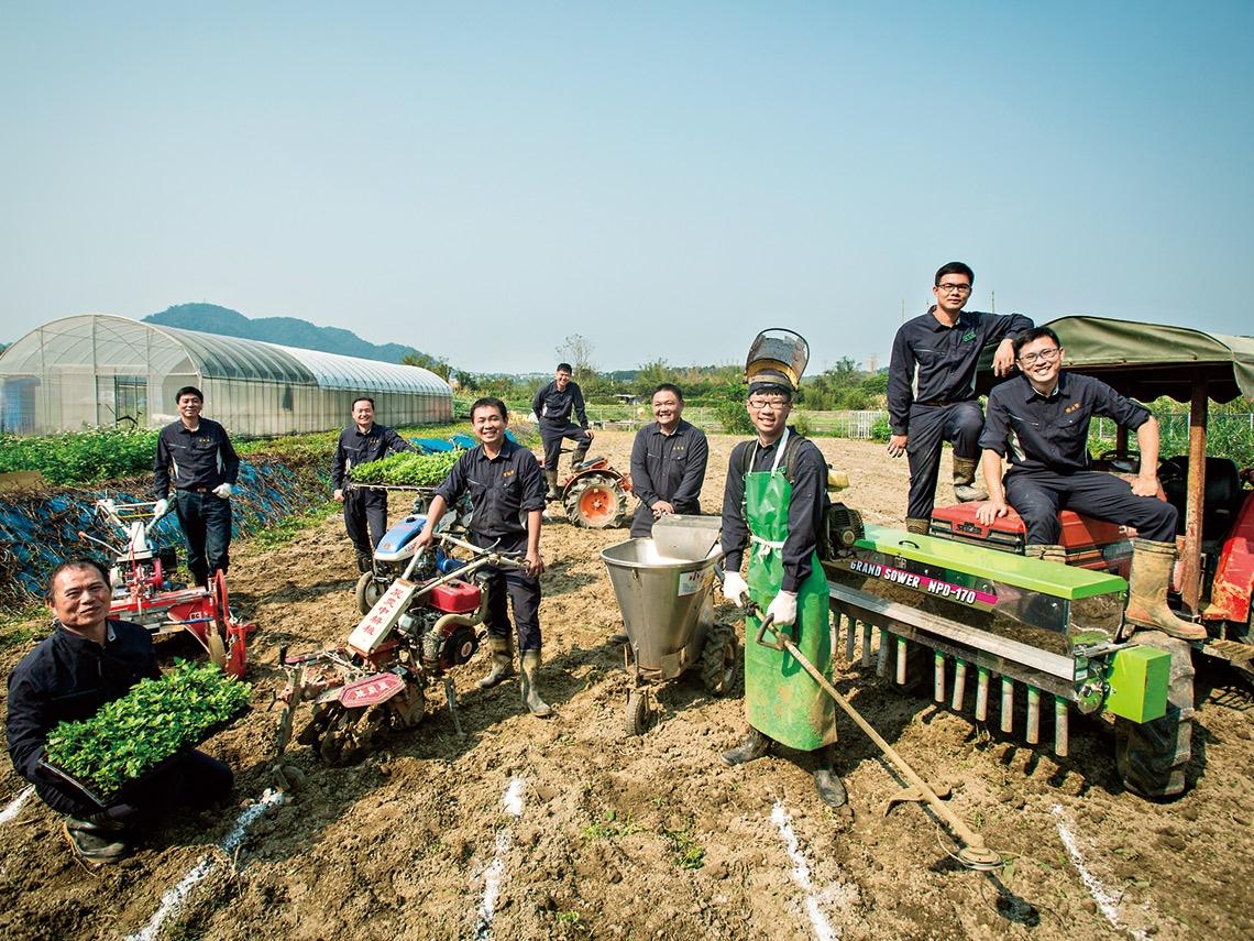 九位青農的微型革命 解決農業缺工痛點