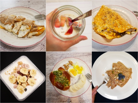 減醣減脂期間,五款好吃的高蛋白早餐