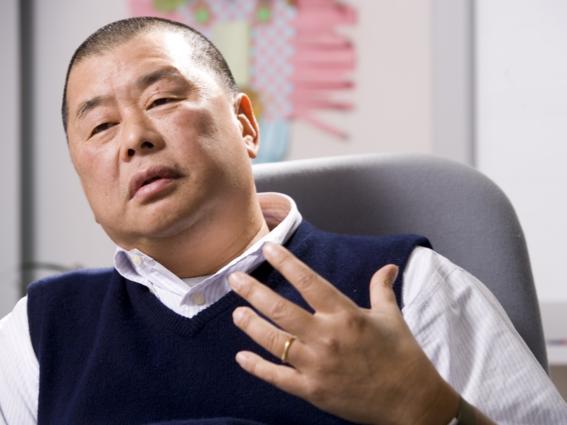 這些年  黎智英在台灣賣了多少棟樓?