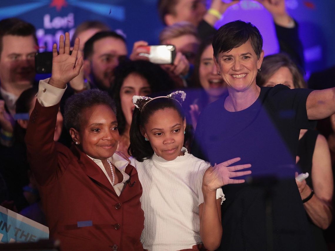從芝加哥市長到中歐總統  女力治天下