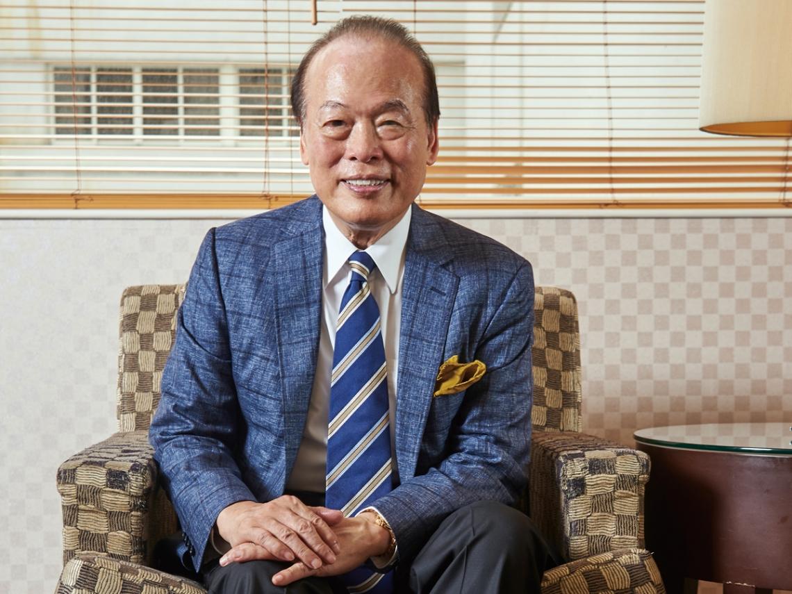 成功就是不斷的自我挑戰 仙妮蕾德創辦人陳得福博士 打造千億帝國
