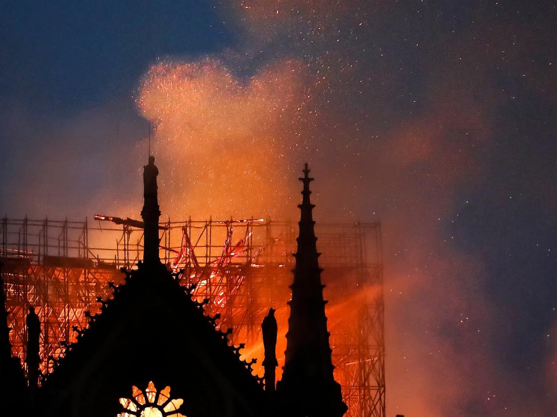 巴黎聖母院遭火噬 但你知道台灣有多少古蹟也被火燒掉嗎?
