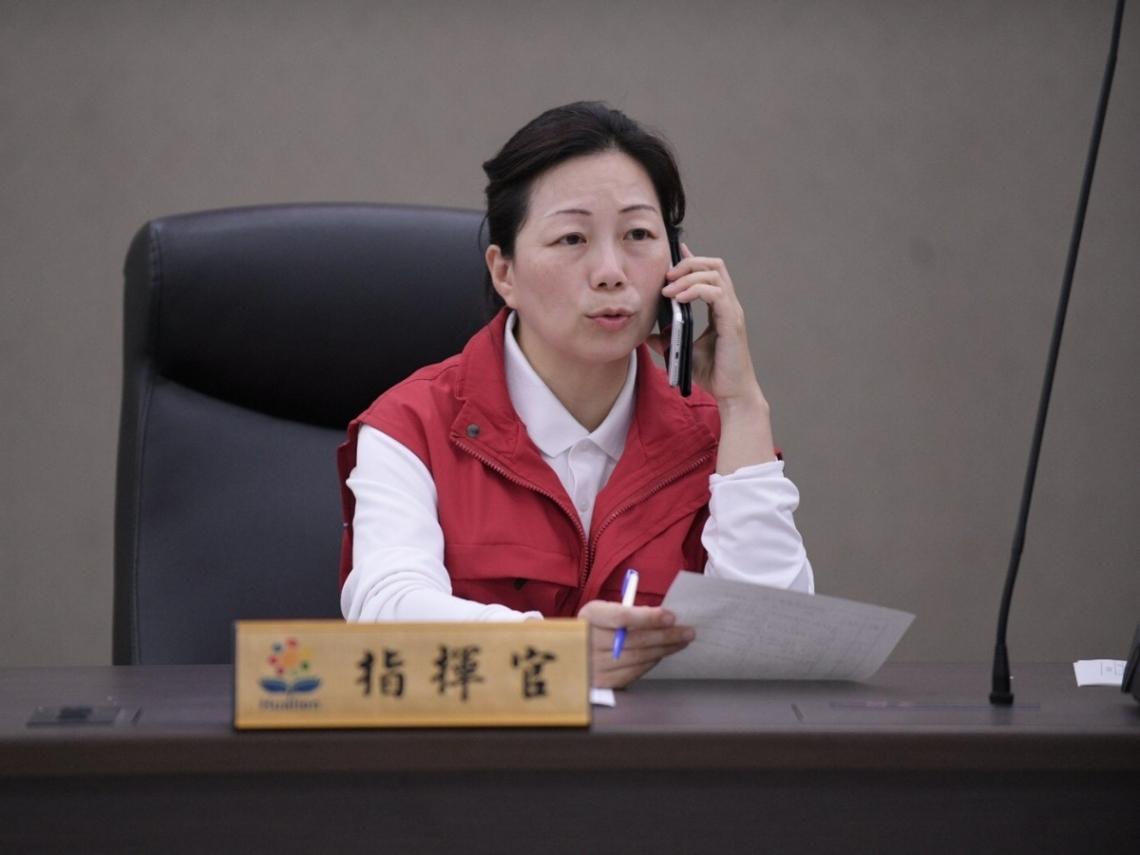 花蓮縣長徐榛蔚向中央喊話 應重視國家公園安全防護