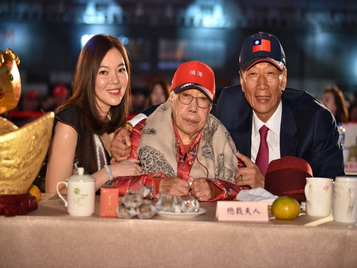 郭台銘談曾馨瑩、韓國瑜  「太太今天回家、韓是我鐵打的兄弟」