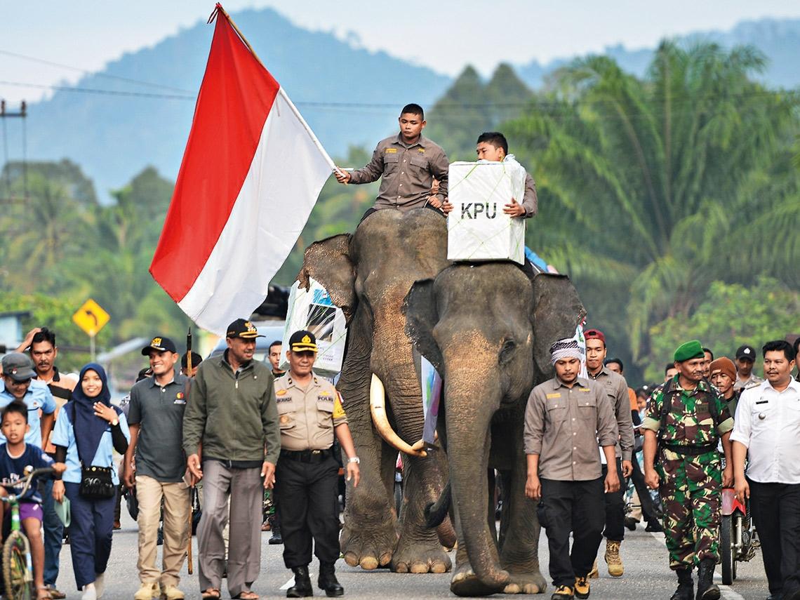 地表最複雜的印尼大選  給台灣的一堂課