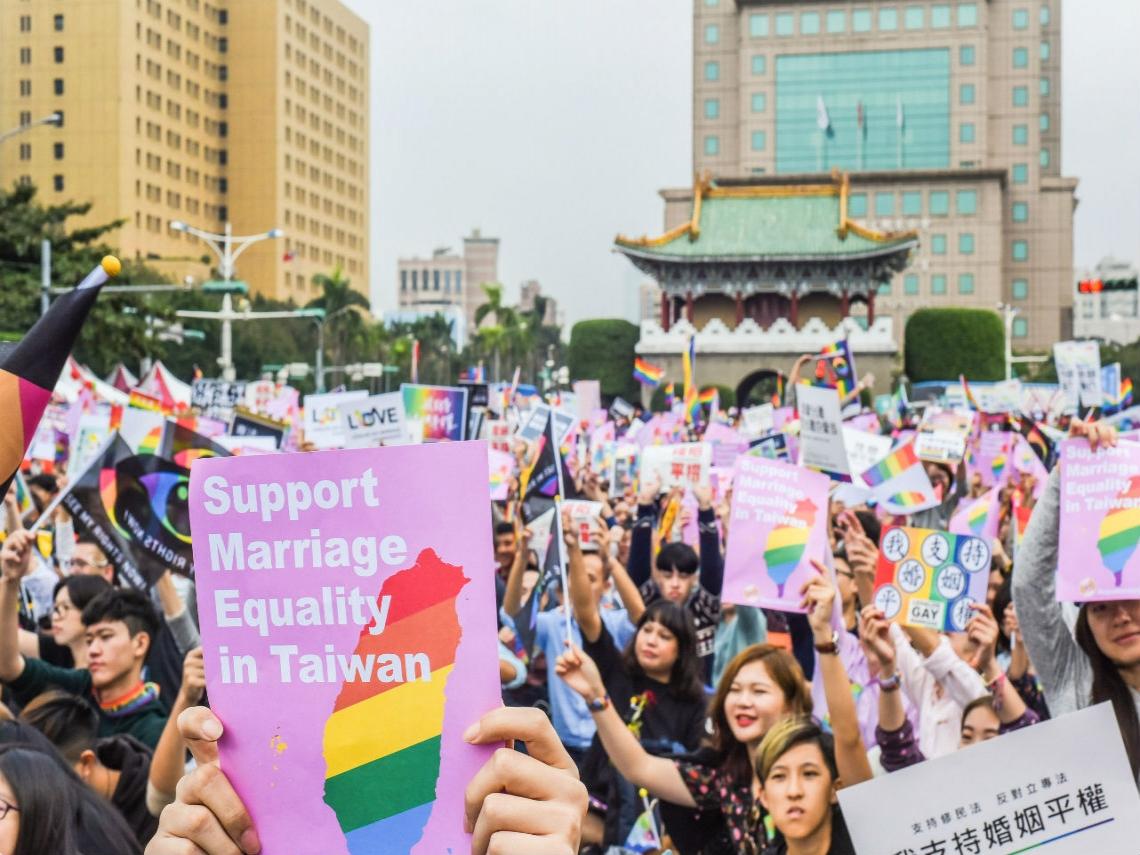 國際統計數據告訴你:同性婚姻合法化後,台灣將變成什麼樣子?