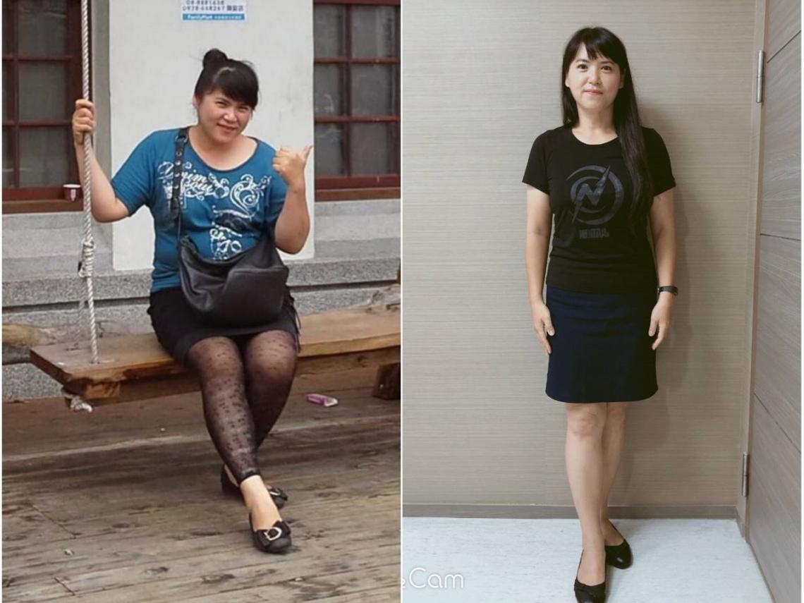 半年內減24公斤,大嬸轉身變姐姐!最新流行的「不運動、不節食」減肥法