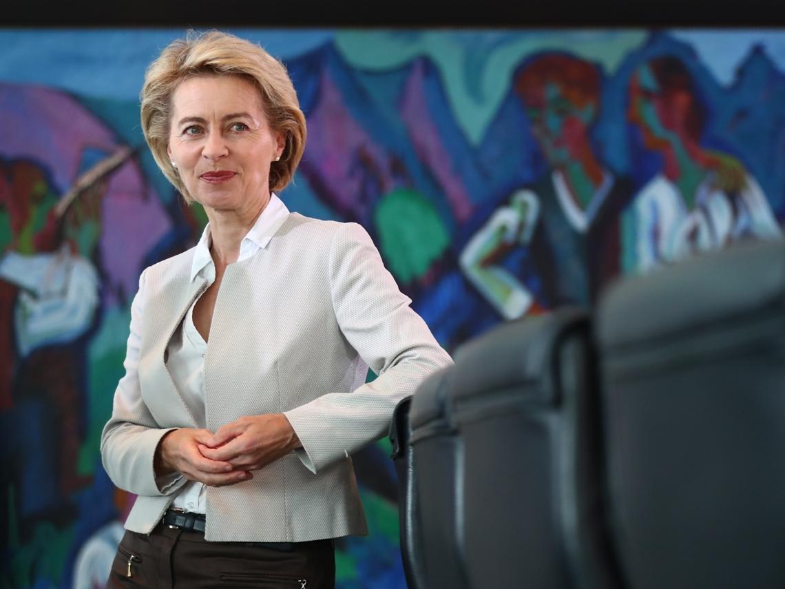 馬克宏扳倒梅克爾  歐盟女總理可望出線