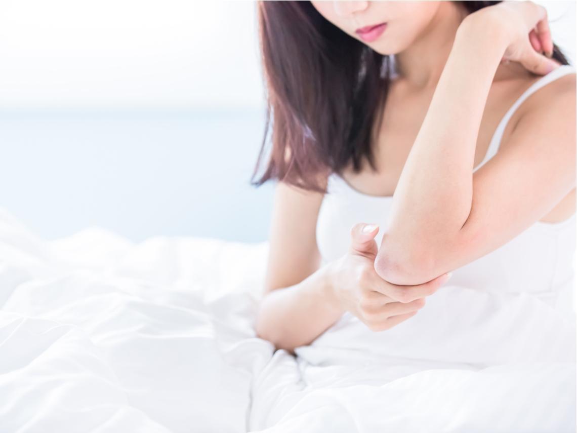皮膚搔癢、起紅疹好難受?中醫有效治療濕疹,5招保養舒緩不適