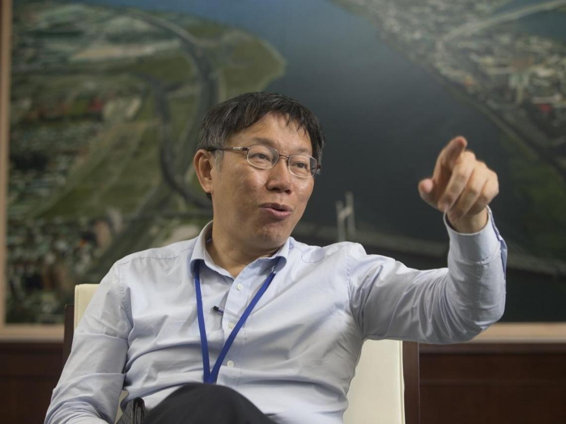 國民黨正式提名韓國瑜參選2020 柯文哲:韓最大支持者就是loser
