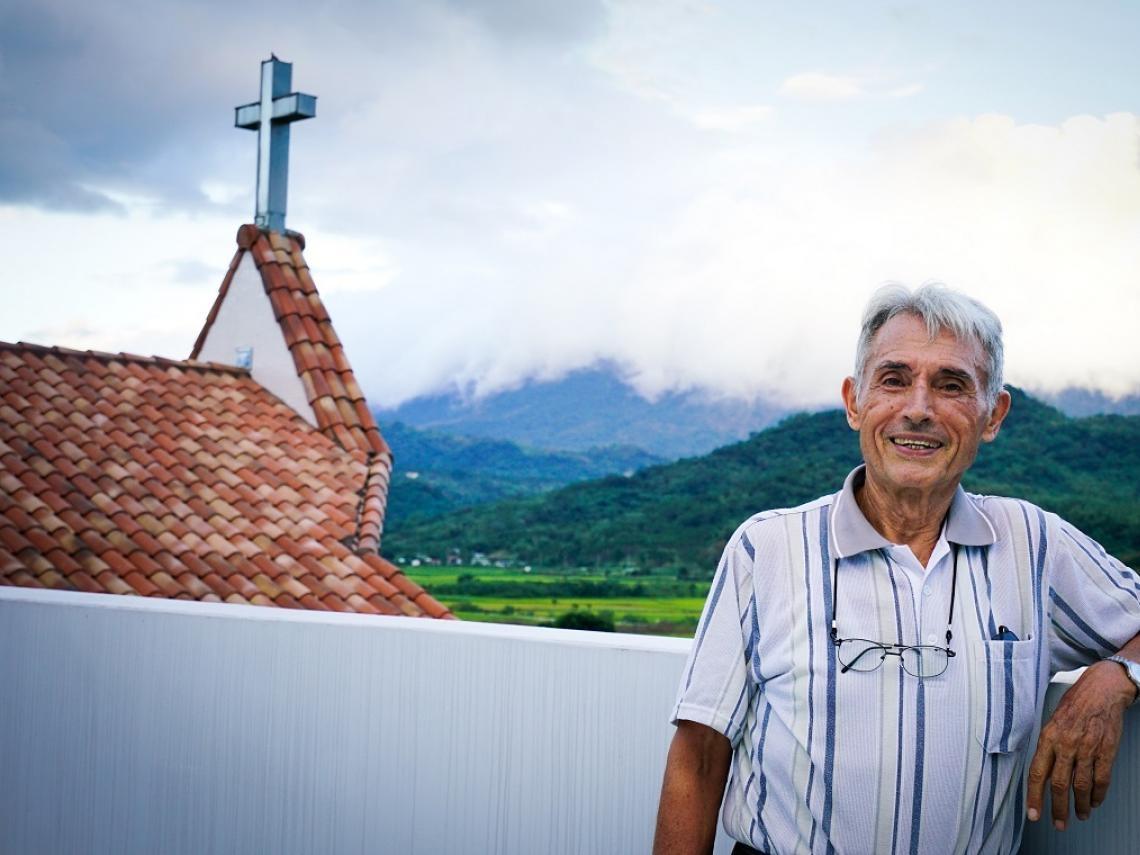 捨母愛來台超過53年、精通原住民語言 法國神父劉一峰奉獻台灣創造大愛