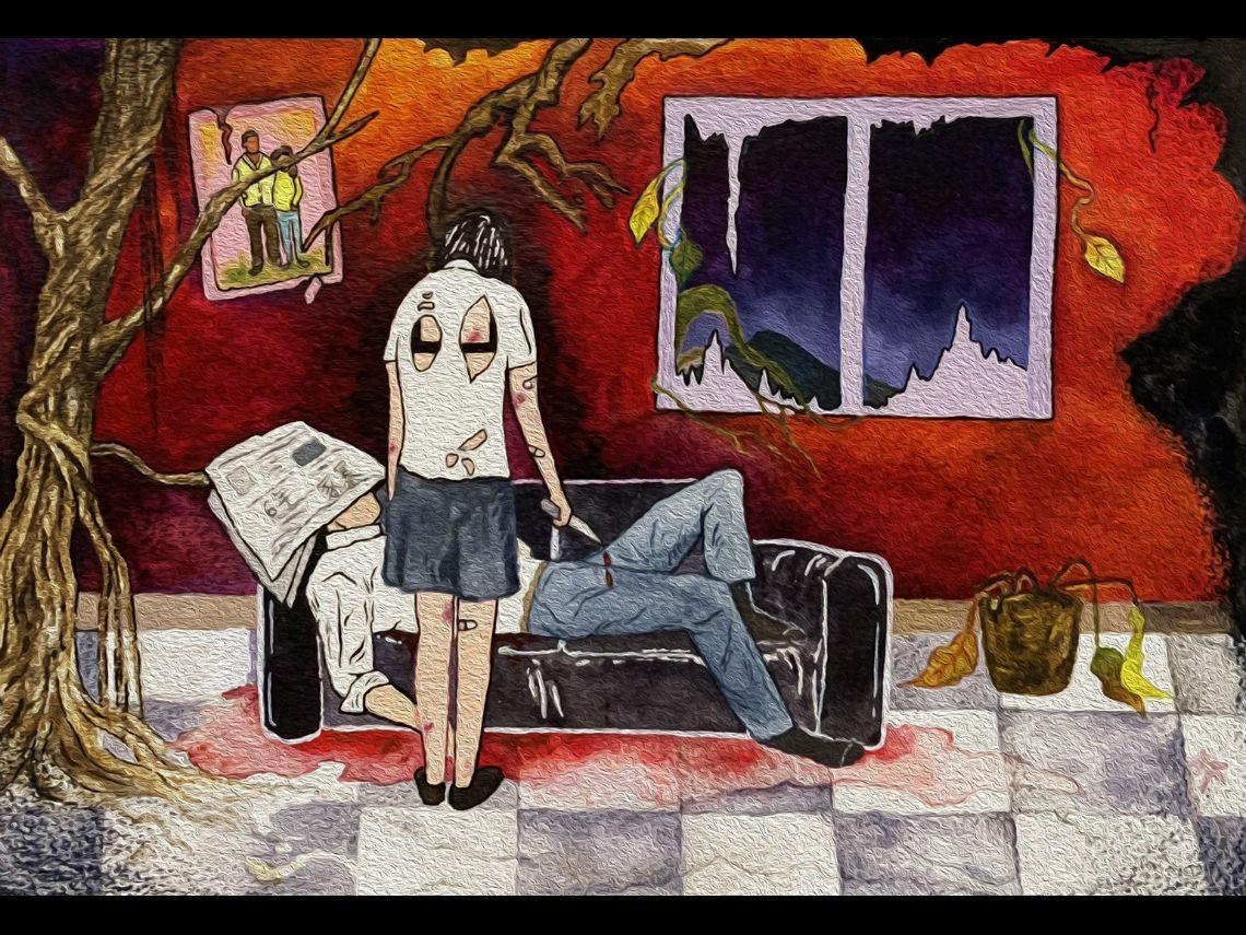 家暴法21週年》15歲遭性侵生子、7年日夜凌虐...她選擇「鐵鎚殺夫」結束地獄婚姻