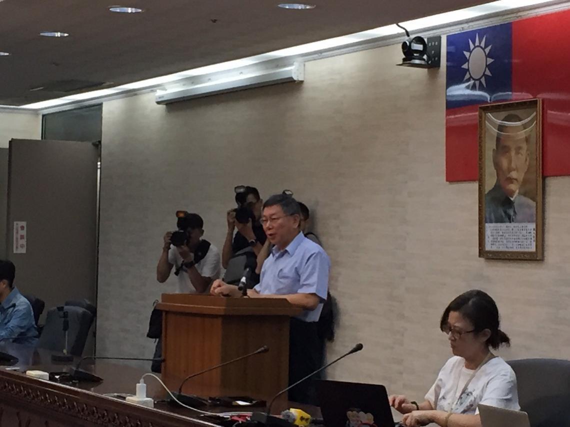 投下「政撼彈」組台灣民眾黨 柯P:只想讓台灣更好 參選非重點