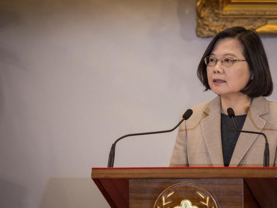 柯P組黨來勢凶  蔡英文: 守護台灣民主自由