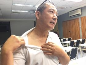 53歲男子聲音沙啞、咳嗽,竟是下咽癌末期!他靠3招輕鬆抗癌,開心重回職場