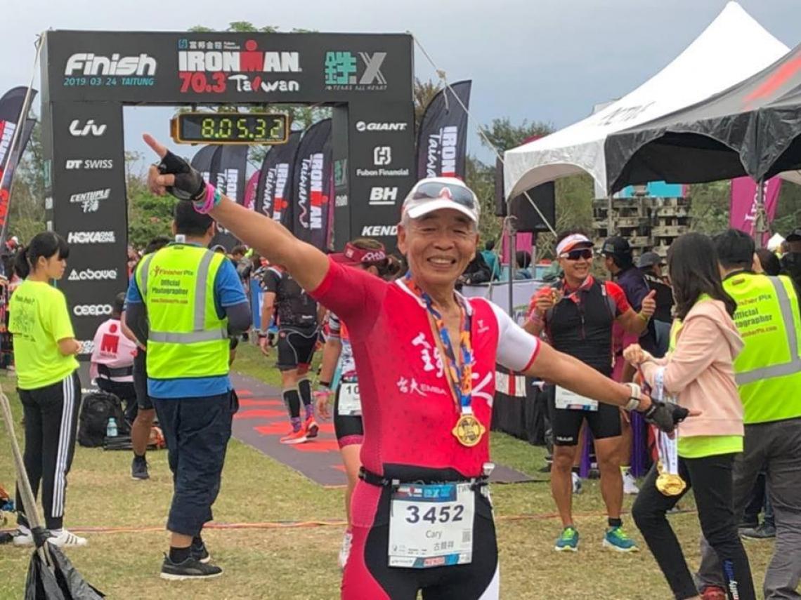 泳渡長江日月潭、鐵人賽參加超過50次:我73歲跑一步賺一步,活成我想要的樣子