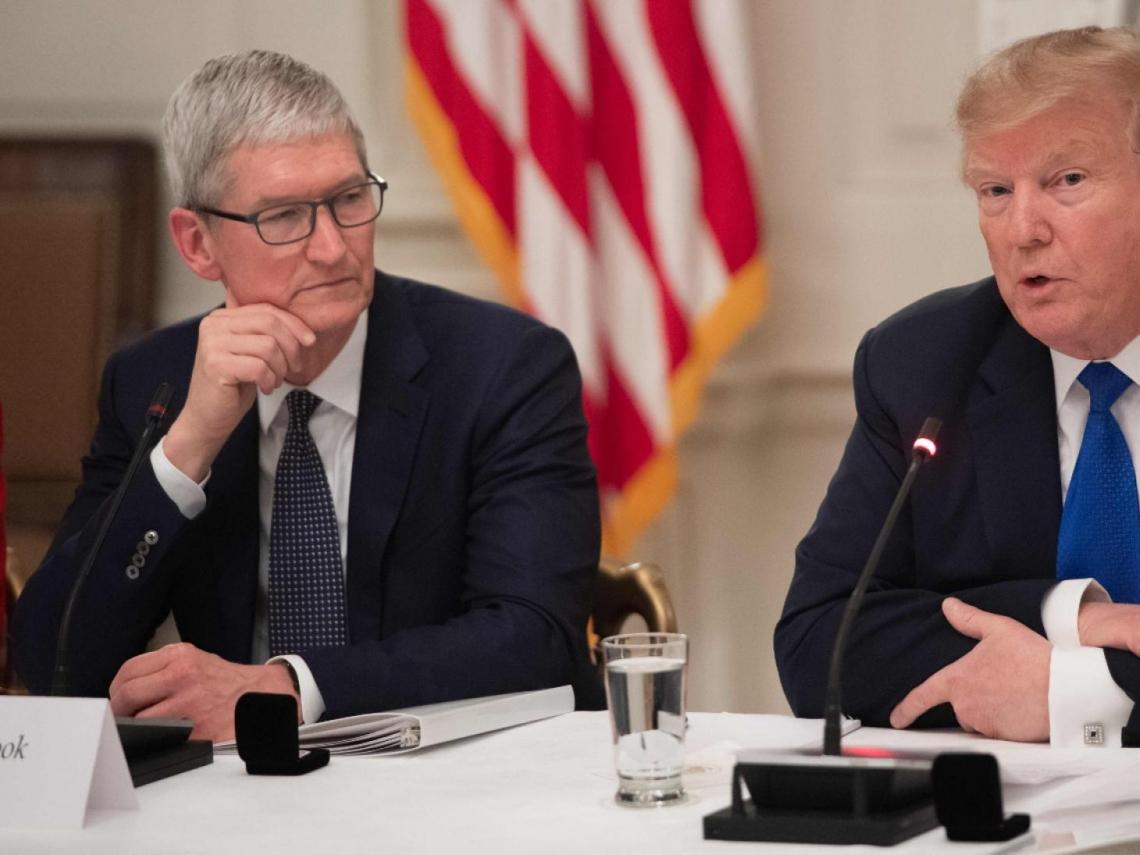 蘋果可望取得關稅豁免?川普:庫克「不想輸三星」是個好論點