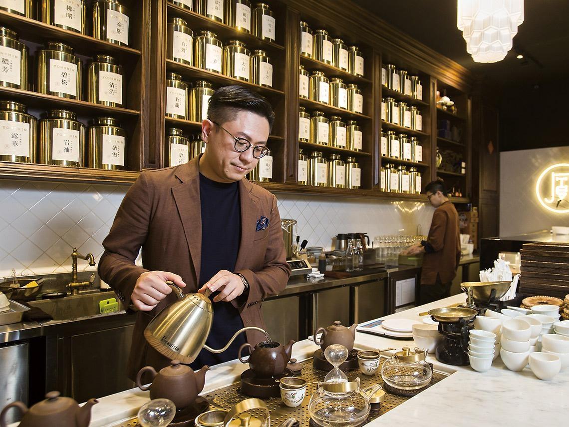 永心鳳茶打造記憶點 把高雄小攤變台北潮店