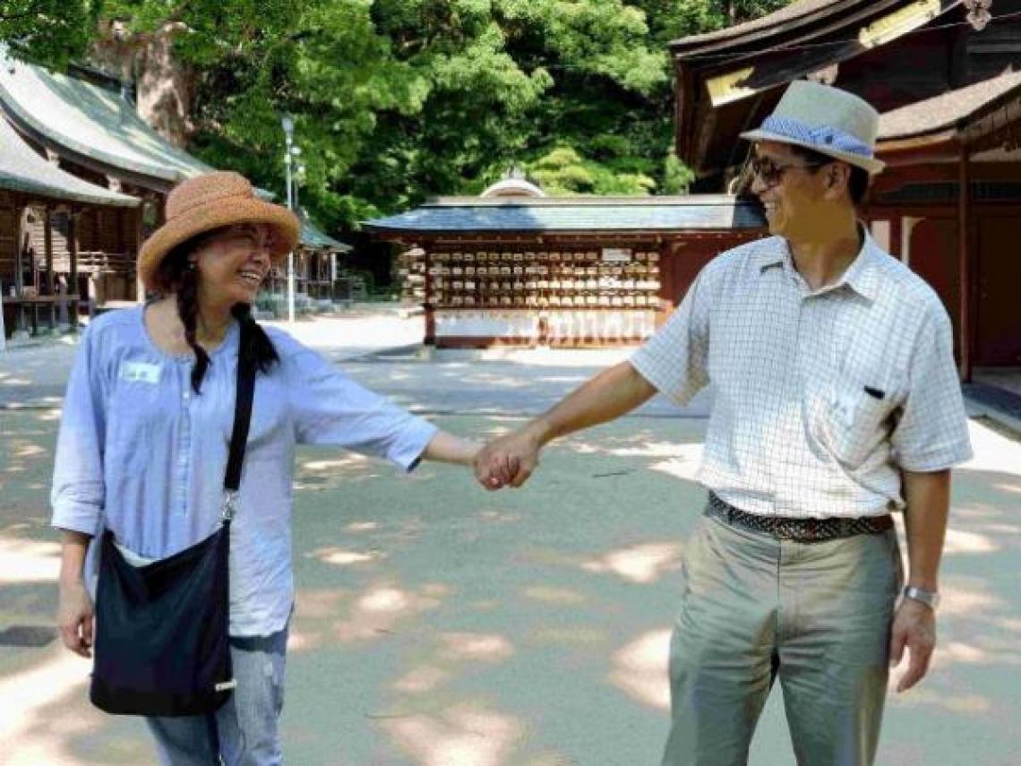 另一半罹癌後,我們一起去日本!癌後重生的二次蜜月,老夫妻這樣找回幸福時光