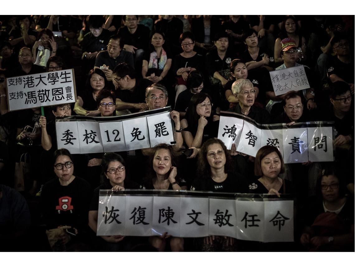 人權組織示警  中國黑手已伸入香港校園