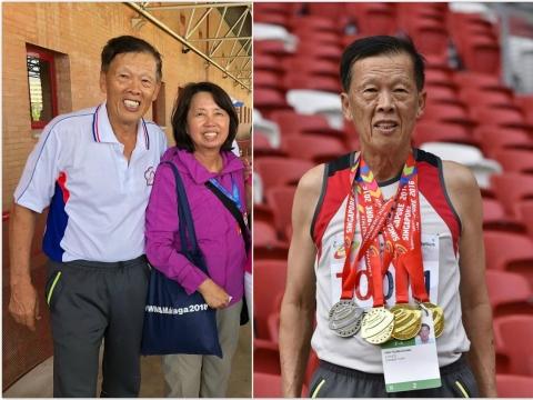 77歲勇奪世界田徑賽冠軍!火箭阿公:有目標,人生才會過得快樂