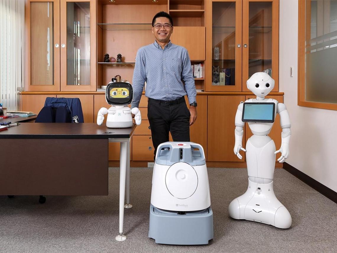 沛博組機器人兵團 打造完美客戶體驗