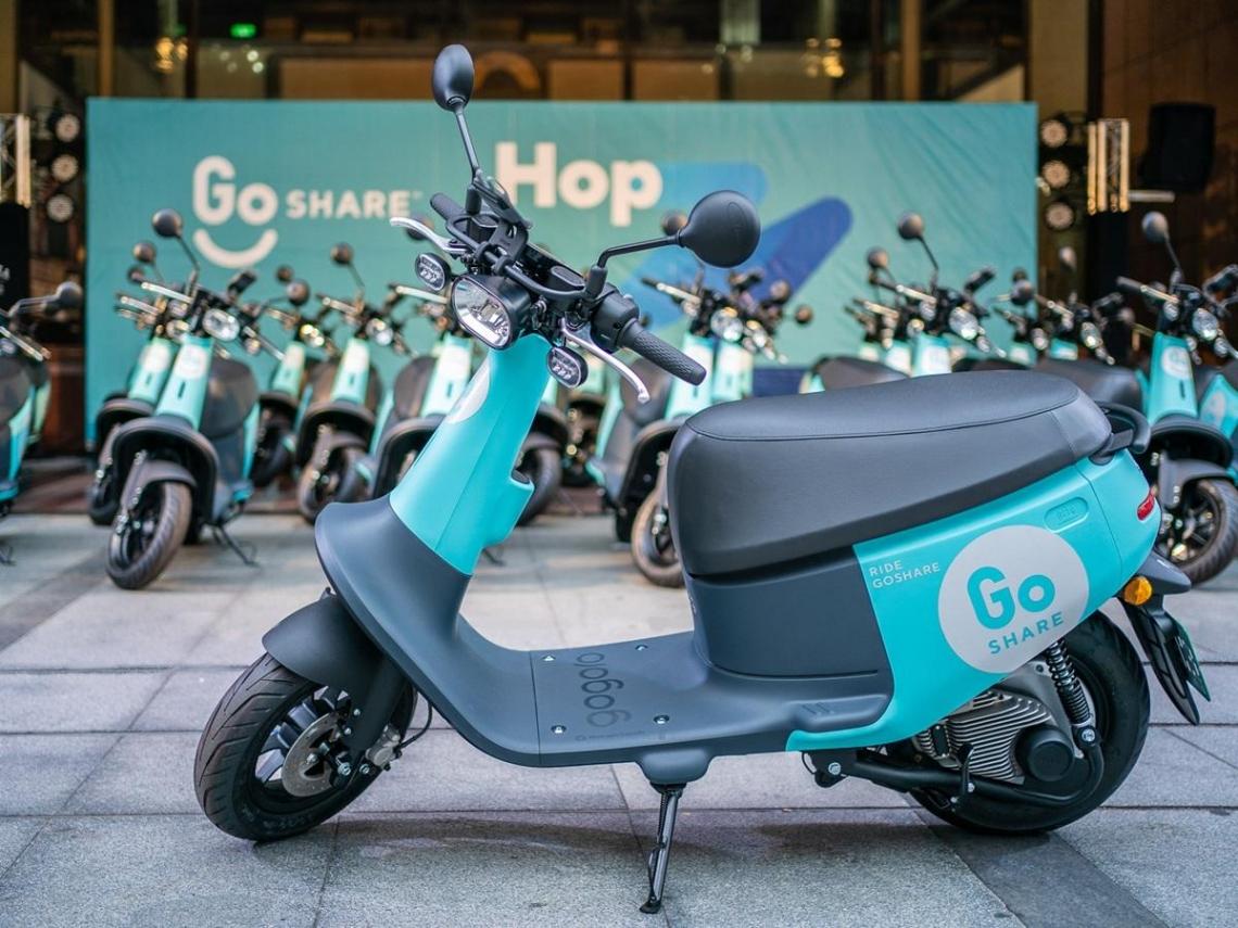 搭載Gogoro最新車款,GoShare進軍台北!3家搶食「共享機車」市場